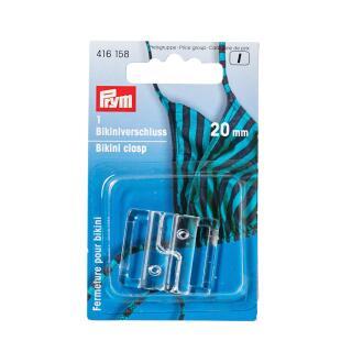 Bikiniverschluss KST 20 mm transparent Prym