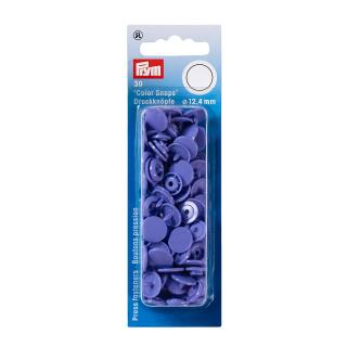 Nähfrei Druckknopfe Color Snaps rund 12,4mm flieder Prym