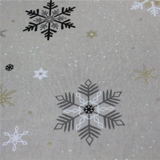 Canvas Schneeflocken