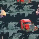Lastwagen Panel und Kombistoff