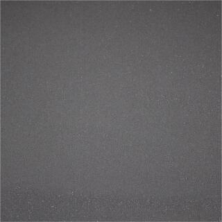 Glitzer Kreppstoff schwarz