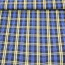 Polyester Blusenkaro mit Stand