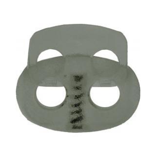 Kordelstopper 2-loch18mm oval