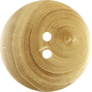 Knopf 2-Loch Holz 25 mm