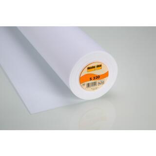 S320 Schabrackeneinlage fixierbar 90cm  100 % Polyester Vlieseline