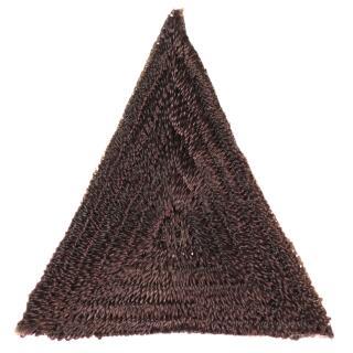 Applikation Dreieck Fb.881 dunkelbraun  VENO